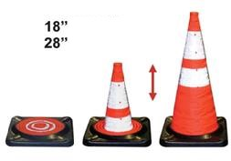 """Traffic Collapsible Cone 28"""""""