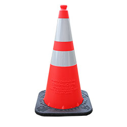Traffic Collapsible Cones C/W Light